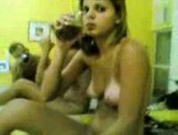 Sexo com a amiga bebada muito gostosinha